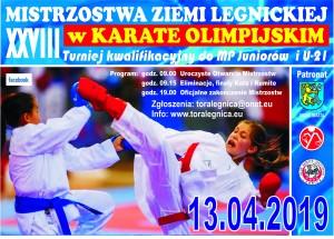 Plakat Mistrzostw Ziemi Legnickiej-1